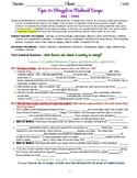 myWorld Interactive World History Topic 10 Study Guide, Vocabulary Crossword, Ma
