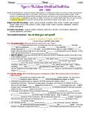 myWorld Interactive World History Topic 11 Study Guide, Vocabulary Crossword, Ma