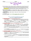 myWorld Interactive World History Topic 7 Study Guide, Voc