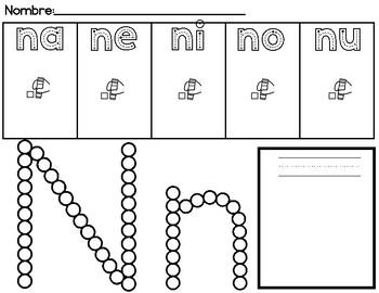 na ne ni no nu by Kindergarten Maestra   Teachers Pay Teachers