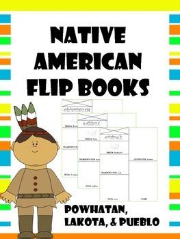 native american flip books