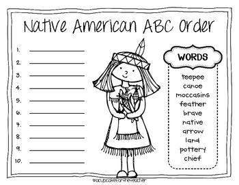 Native American Kids {Craftivity}