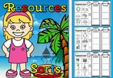natural resources sorting cards.(free)