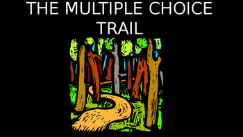 navigating the trail of multiple choice questions