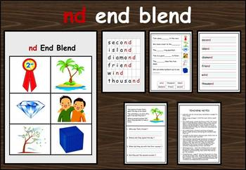nd end blend work packet