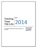 5th grade Math STAAR TEKS 5.2A (Good For 2014-2015)