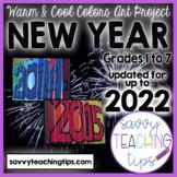 2020-2022 new years art activity