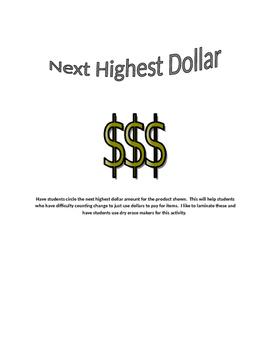 next highest dollar