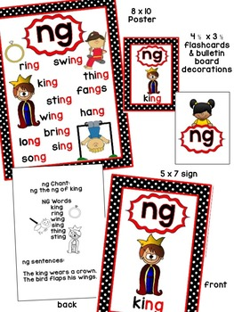 ng Phonogram Book & Poster Pack with Phonics Practice