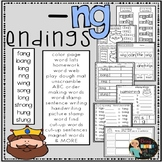 ng endings Hands-on Spelling and Phonics