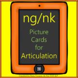 ng & nk Articulation Cards No Print   Digital