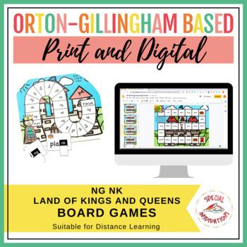 ng or nk? Land of Kings Board Game