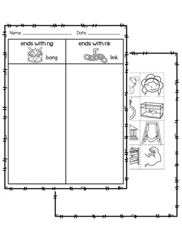 ng or nk worksheets and activities