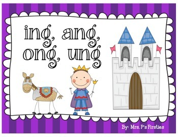 ng unit (ing, ang, ong, ung)