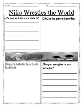 nino wrestles the world