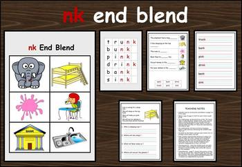 nk end blend work packet