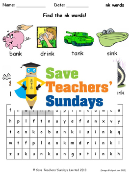 nk phonics lesson plans, worksheets and other teaching resources