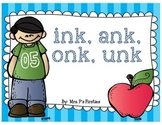 nk unit (ink, ank, onk, unk)