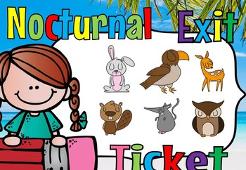 nocturnal exit tickets