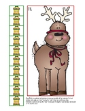 non-standard measurement: reindeer, gingerbread, christmas and pine trees