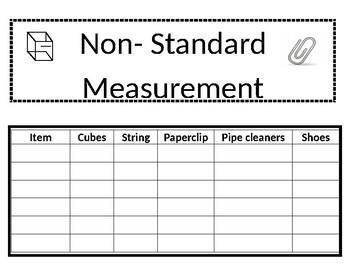 non standard worksheet