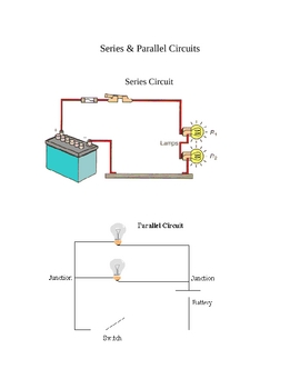Notes Parallel & Series Circuits (electrcity)