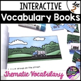 Interactive Vocabulary Mini Books Set 2 ~ Great for Building Vocabulary