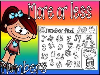 number find(free worksheet)