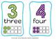 number flash cards(FREE- FREEDBACK CHALLENGE)