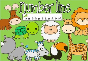 number line (50% off for 48 hours)
