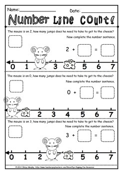 number line counting