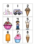 numeral cards 1 to 20: set 4