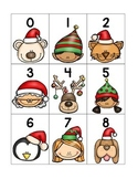 numeral cards 1 to 20: set 5