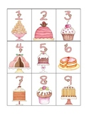 numeral cards 1 to 20: set 2