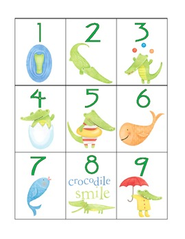 numeral cards 1 to 20: bundle 3