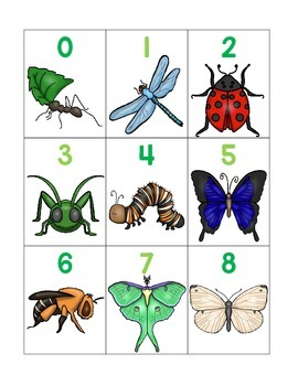 numeral cards 1 to 30: bundle 1