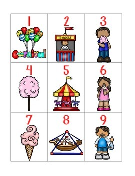numeral cards 1 to 30: bundle 2