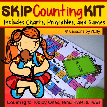 skip counting by tens-skip counting by fives-skip counting by twos