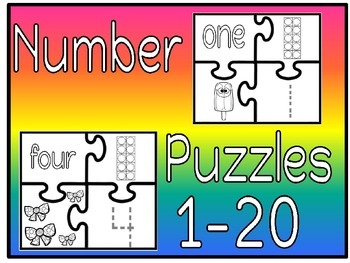 number puzzles1-20