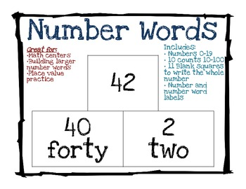 number word building