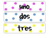 number words 0-20 spanish