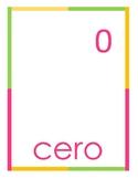 numbers 0- 10  spanish