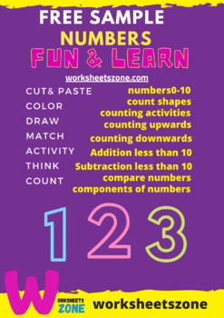 numbers 1-10 counting