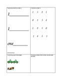 numbers 1 through 10 simple assessments