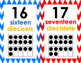 numbers 20 display posters (English and Spanish)