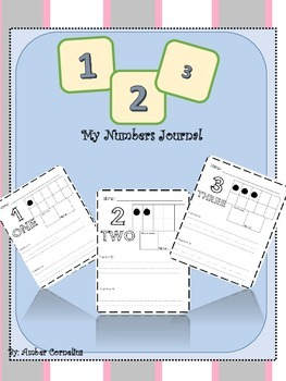 My numbers journal 1-100!