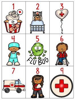 numeral cards 1 to 20: bundle 12