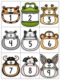 numeral cards 1 to 20: set 13