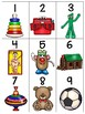 numeral cards 1 to 20: bundle 15