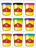 numeral cards 1 to 20: set 16_back to school theme